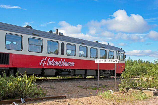 Under 2020 reste 14.900 resenärer med Inlandsbanan. Om det inte hade varit för Land hade den varit nedlagd.