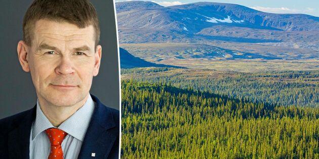 Kravet: 360 miljoner till fjällnära skog