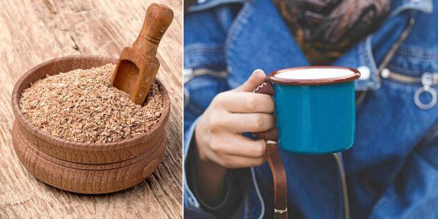 Så gör du ditt eget kaffesurrogat – av vetekli