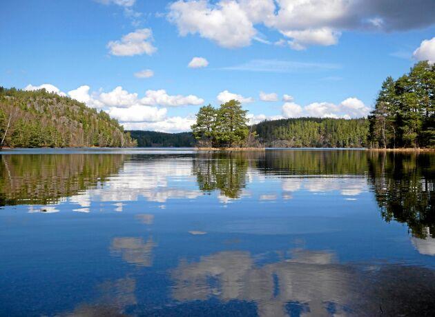 SMHI visar var i landet det är lågt grundvatten och låga flöden.