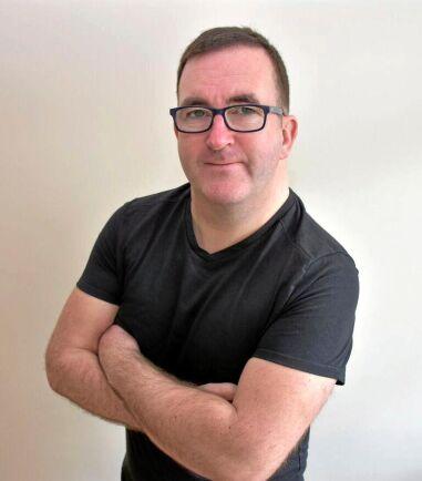 Chris McCullough, lantbruksjournalist, Irland.