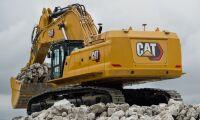 Cats nya 90-tonnare slösar inte med energin