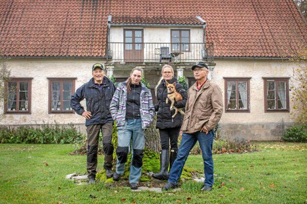 Ta över gården Familjen Orleifsson bröderna Dag o Leif med döttrnar Jennie o Johanna