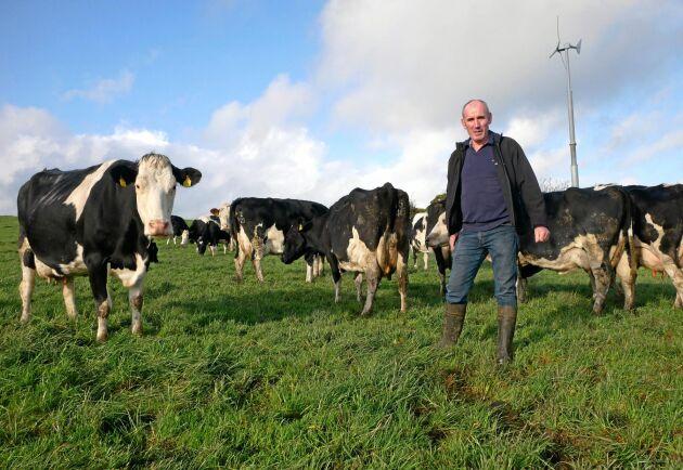 Irländska mjölkbonden Lorcan McCabe vill att övergångsperioden för Brexit blir längre.