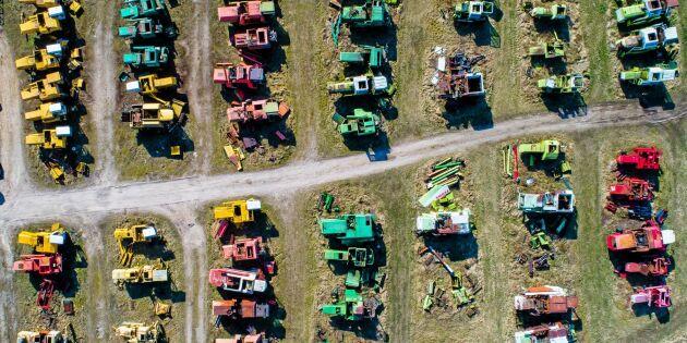 Här är traktorerna som skrotas mest