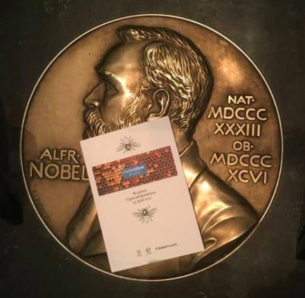 I år har Nobelmuseets Forskarhjälpen valt biodling som område, projeket kallas Bijakten. Foto: Nobelmuseet.