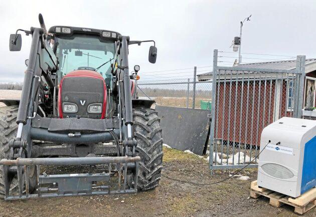 Valtras biogastraktor blev aldrig någon hit. Men de rullar fortfarande på vissa håll.