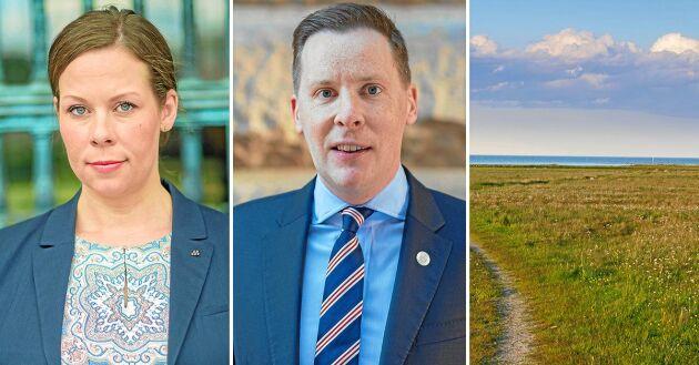 Moderaternas Maria Malmer Stenergard och Mats Green vill att kommunerna själva ska inrätta strandskydd på de ställen där de anser att det faktiskt behövs. Det skriver de i ett debattinlägg.