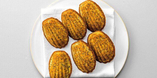 Baka världsberömda Madeleinekakor med citron – bästa receptet