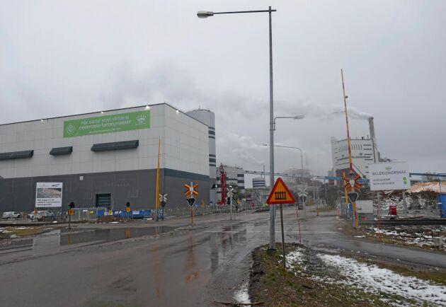 Upprampningen av Billerud Korsnäs nya kartongmaskin i Gruvön går enligt plan uppger VD Petra Einarsson.
