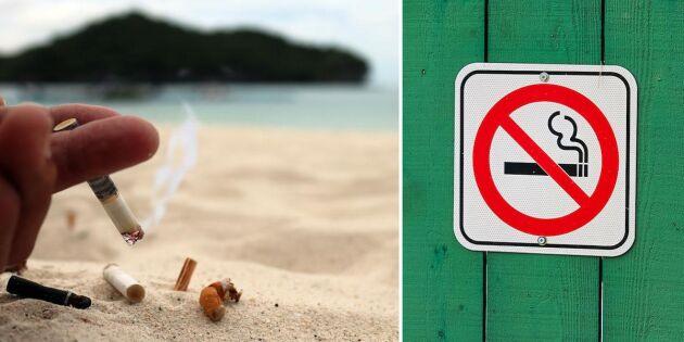 Nu blir det rökförbud utomhus – nästan överallt!
