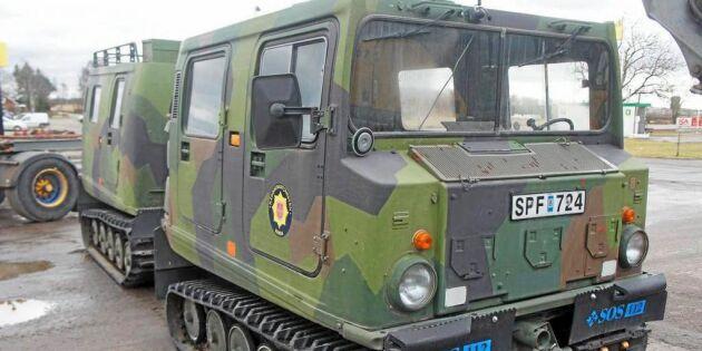 Bildspel: Gammalt försvarsmateriel säljs ut