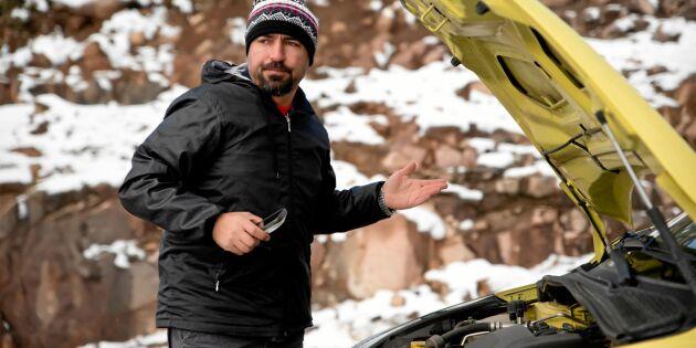 6 vanliga bilproblem du kan få i kylan