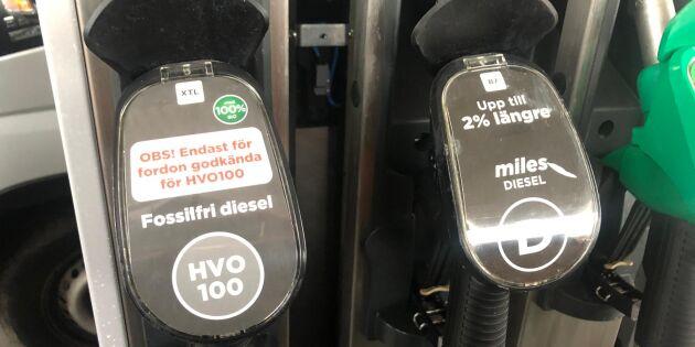 HVO kan få en prislapp på 27 kronor per liter