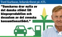 Låt inte danskarna slå ut blågul biogas