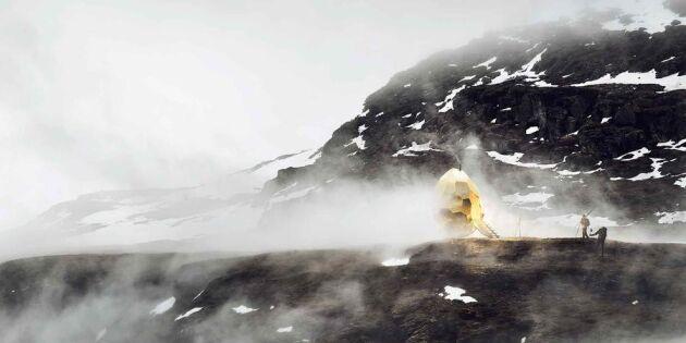 Här är spektakulära bastun som ska locka världen till Kiruna