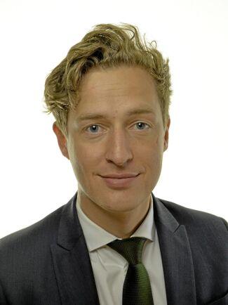 Emil Källström, ekonomipolitisk talesperson för Centerpartiet.