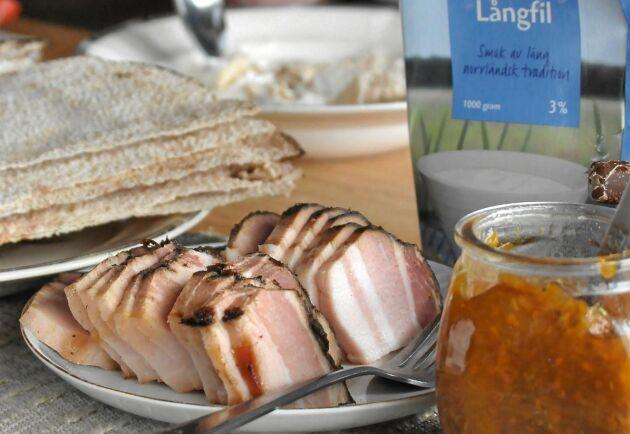 Filbryta med fläsk smakar ljuvligt och är lagom mättande. Perfekt som lättare lunch.