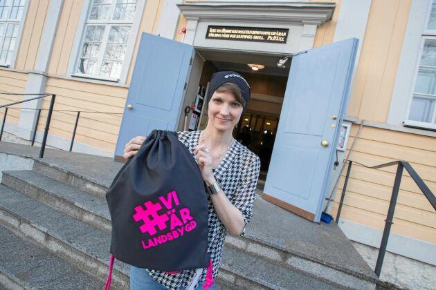Jeanette Gawelin från Råneå är en av många som lägger ned åtskilliga timmar i kampen för landsbygdens överlevnad.
