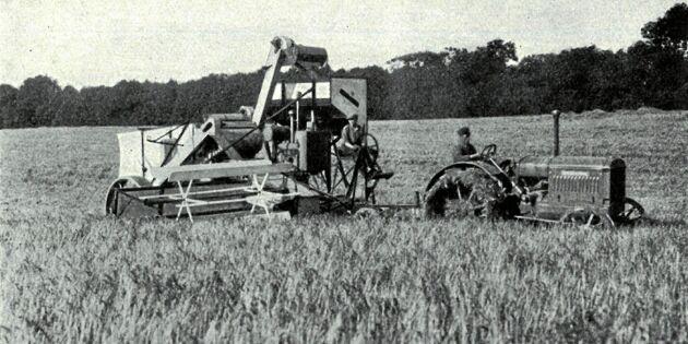 Så förändrade skördetröskan jordbruket