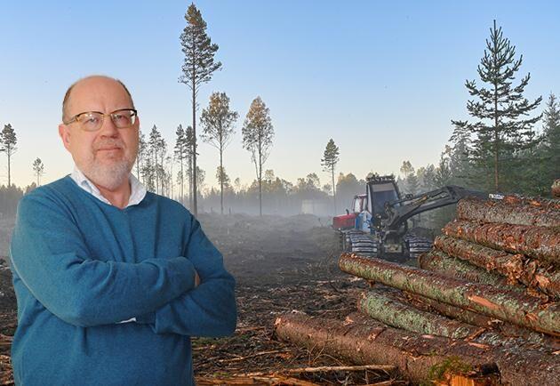 Knut Persson, ledarskribent för Land Skogsbruk.