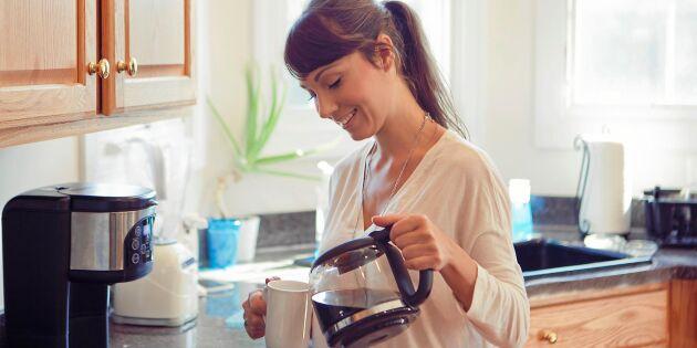 Så får du godare kaffe i din bryggare – 5 proffsknep!