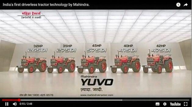 Mahindra: Den indiska traktortillverkaren ger sig in på marknaden med förarlösa traktorer.