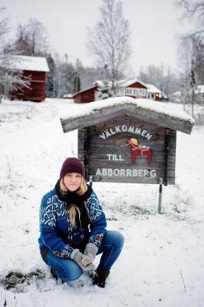 Louise och flera av de andra byborna härstamma från de första svedjefinnarna som bröt mark här på 1600-talet.