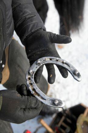 I framtiden hoppas Pecka kunna tillverka egna hästskor.