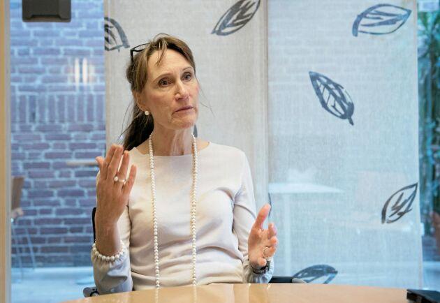 Christina Nordin, generaldirektör för Jordbruksverket, har länge förespråkat ett smalare landsbygdsprogram.
