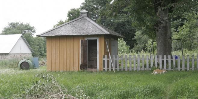 Land.se skriver om renovering av en gammal gård