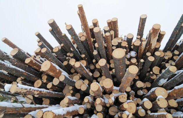 Sveaskog testar den nya kvalitetsklassningen för massaved.