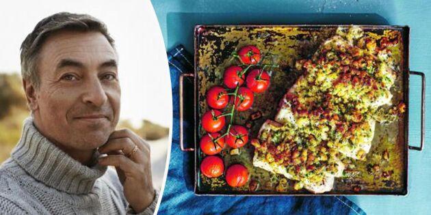 Krispig torsk i ugn – Tareq Taylors superrecept!