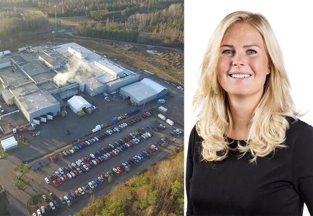Sex aktivister tog sig in på Kronfågels slakteri utanför Katrineholm under torsdagen. Nu har säkerheten förstärkts, enligt Janneke Vackerberg, kommunikationsdirektör på Kronfågel.
