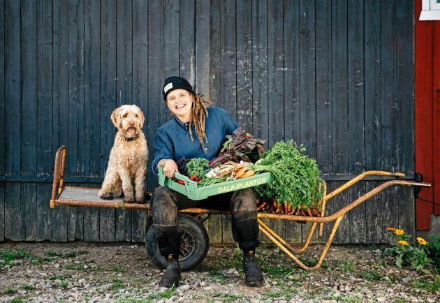 Angelika Jakimowicz var bara 28 år när hon förverkligade sin dröm om en egen gård.