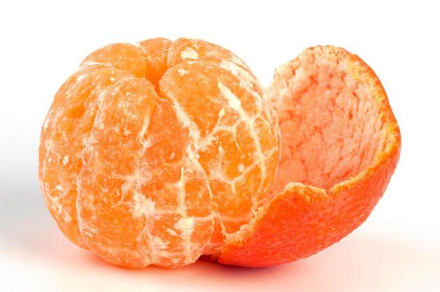 Klementin är den största av de tre.