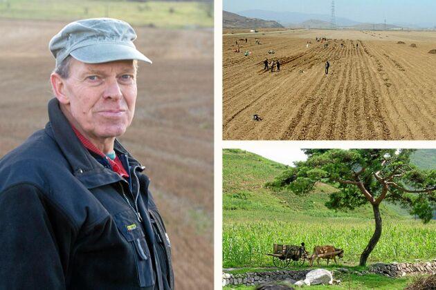 Sven Erik Johansson medverkar i nya avsnittet av Lantbrukspodden där han berättar om sina erfarenheter från Nordkorea.