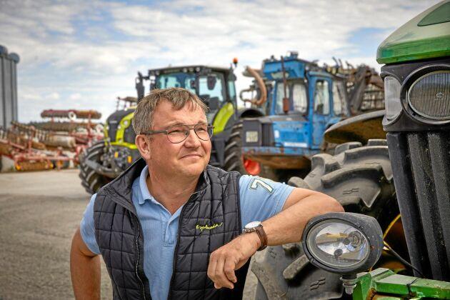 Per Nilsson äger Esplunda lantbruk utanför Enköping. Företaget har en styrelse där hälften av ledamöterna är externa.