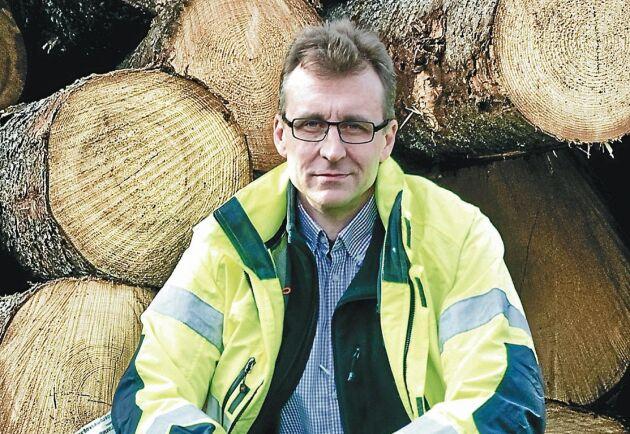 Gunnar Jakobsson vd på Derome Timber.