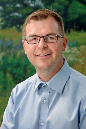 Marcus Söderlind, ordförande i LRF Trädgård.