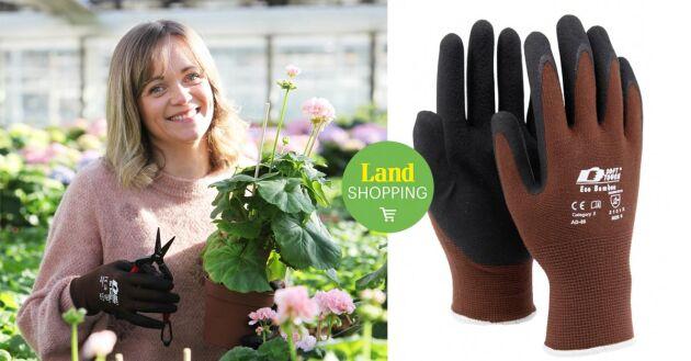 Trädgårdshandsken Eco Bamboo ingår i en serie jubileumsprodukter som enbart säljs under 2021.
