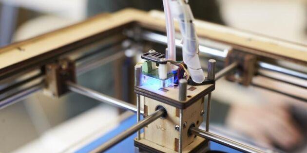 Sverige och Japan utvecklar mat med 3D