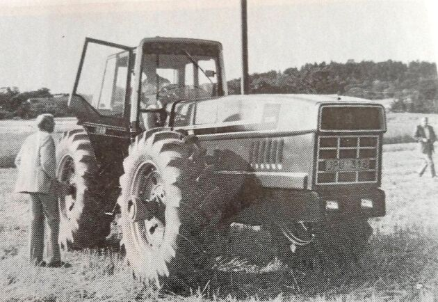 Den nya traktorn från USA beskrevs i Lantmannen på hösten 1979.