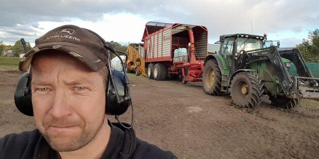 Mjölkgård tvingas lägga ner efter torkan