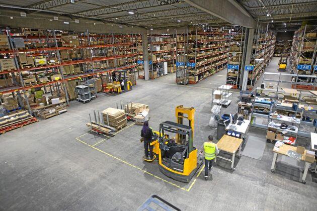 Lantmännen Maskin satsar på att sälja sin lagerkompetens till andra. Först ut är Agco som hyr in sig, vilket innebär en fördubbling av antalet artiklar i lagret i Malmö.