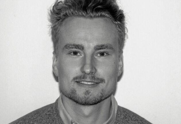 Patrik Björklund från Linköpingsföretaget Glana Sensors.