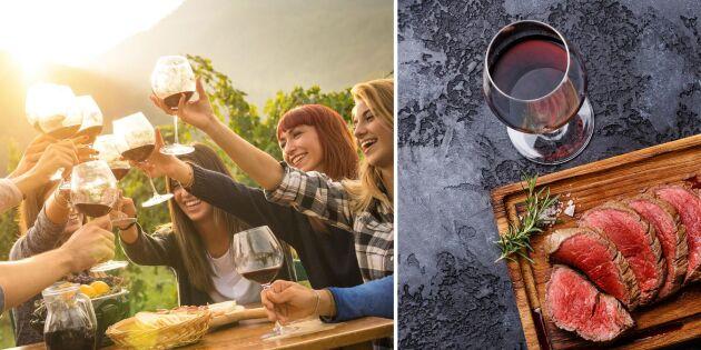 Vin till grillat - här är expertens bästa tips!