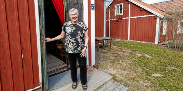 Uthyrning ger pengar över till att vårda gården