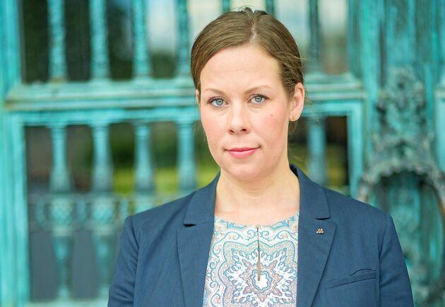 Maria Malmer Stenergard, skattepolitisk talesperson för Moderaterna.
