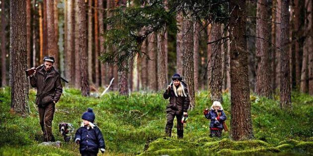 """""""Vi jagar vår mat i skogens eget skafferi!"""""""